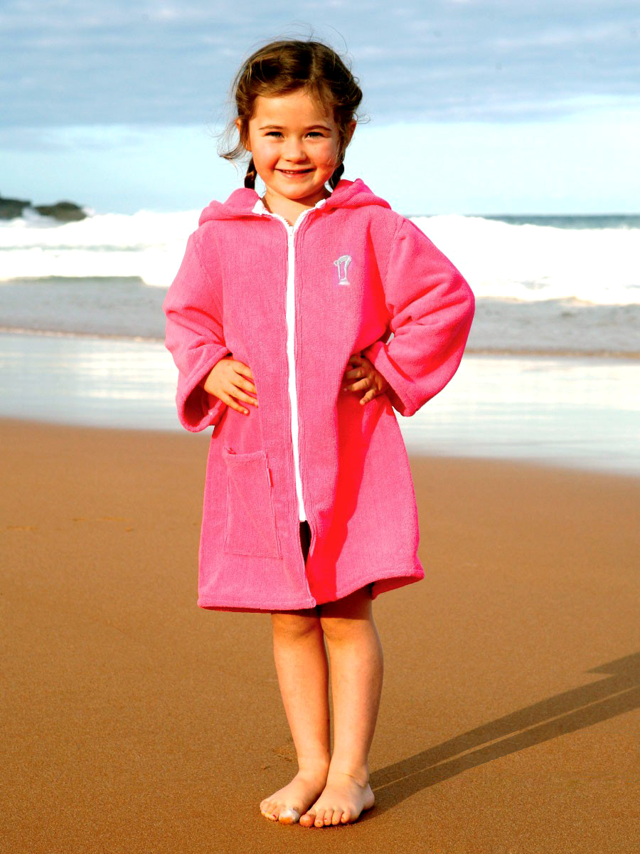 3faeca98d7 Microfibre | Beach Robe | Pink – Terry Rich Australia